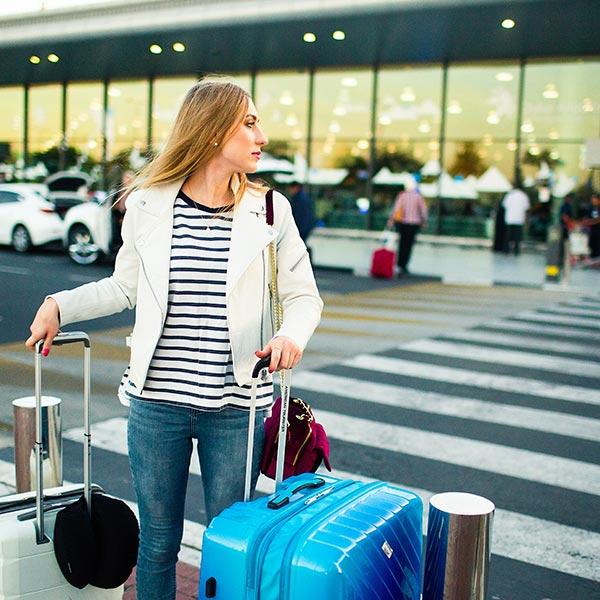 Flughafentaxi, Flughafen Abholung