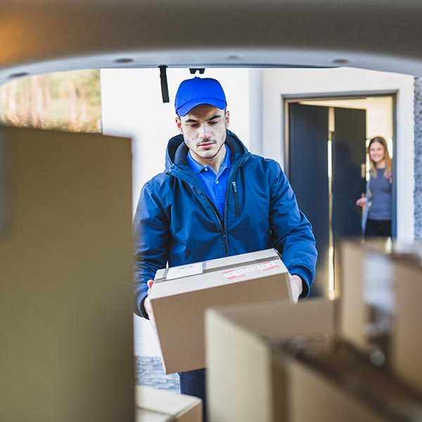 Zustelldienste, Packetzustellung, Briefzustellung, Packeteservice
