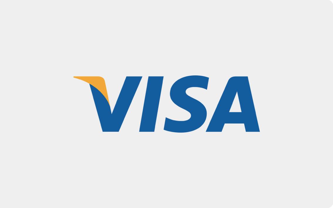 Zahlung mit Visa